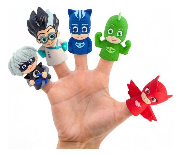 Игровой набор INTERTOY Пальчиковый театр фигурок Герои в масках фото