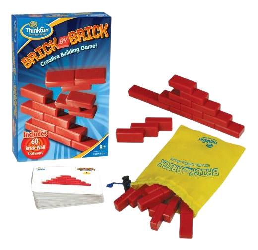 Купить Brick By Brick, Логическая игра ThinkFun Кирпичики 5901-RU,