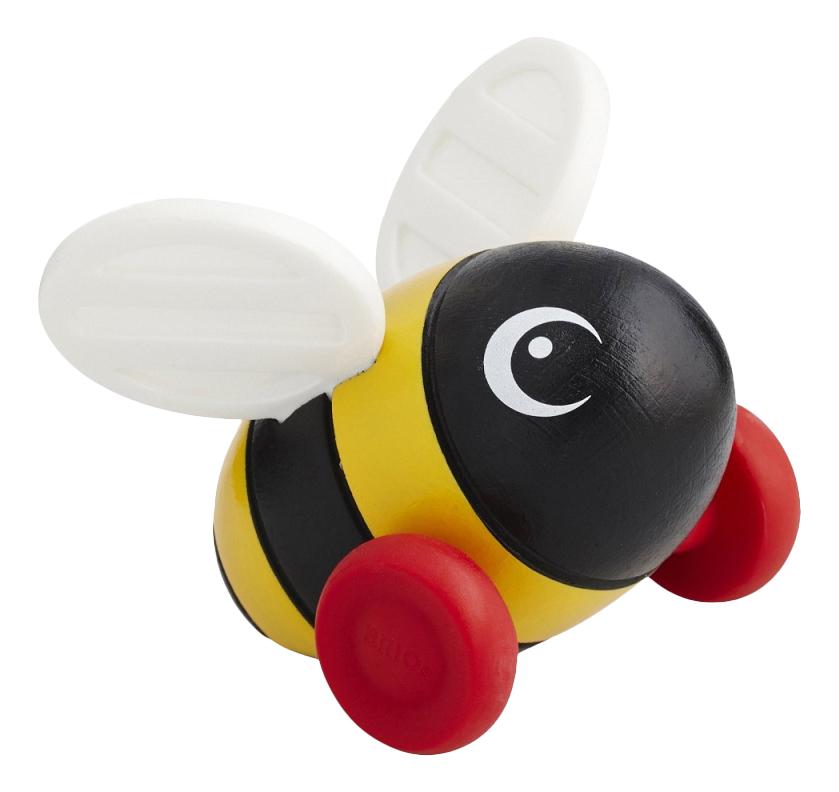 Купить Средняя, Каталка детская BRIO Пчелка, Каталки детские