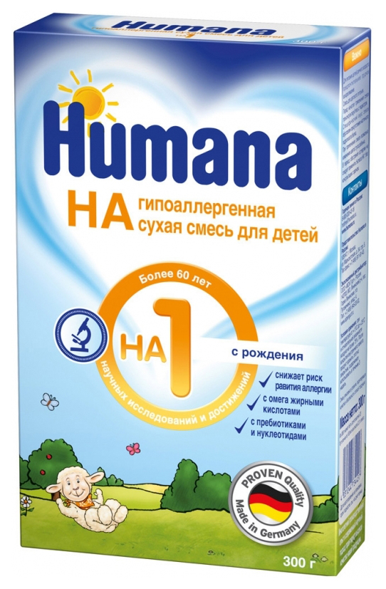 Молочная смесь Humana HA 1 от