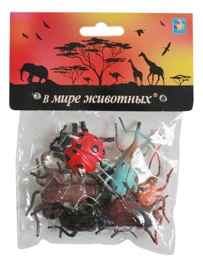 Купить Игровой набор В мире животных Насекомые, 8 штук 1 TOY Т10499, Фигурки животных