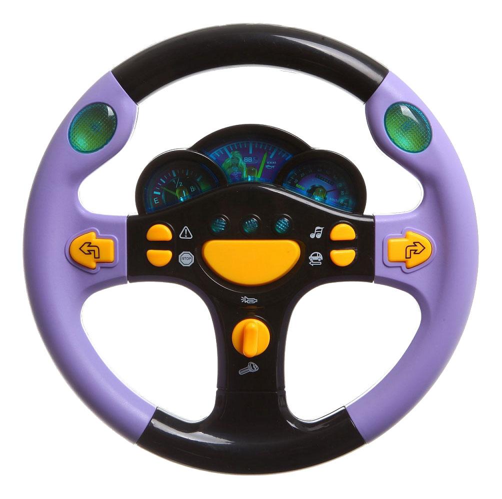 Игрушечный руль Юный водитель Shenzhen toys Б61431 фото