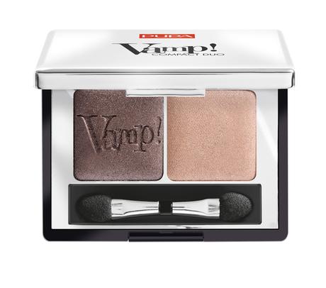 Тени для век Pupa Vamp! Compact Duo Eyeshadow 004