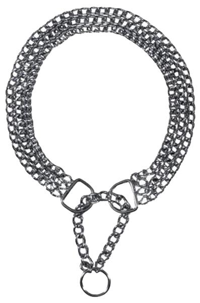 Цепь-ошейник для собак Trixie Semi-Choke Chain, размер 2