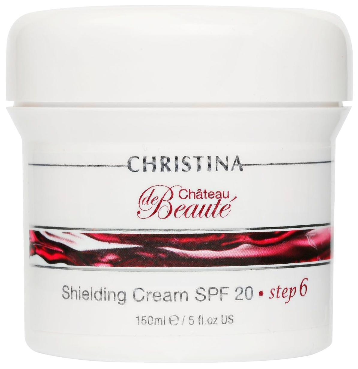 Крем для лица Christina Chateau de Beaute Шаг 6 Защитный крем SPF 20 150 мл