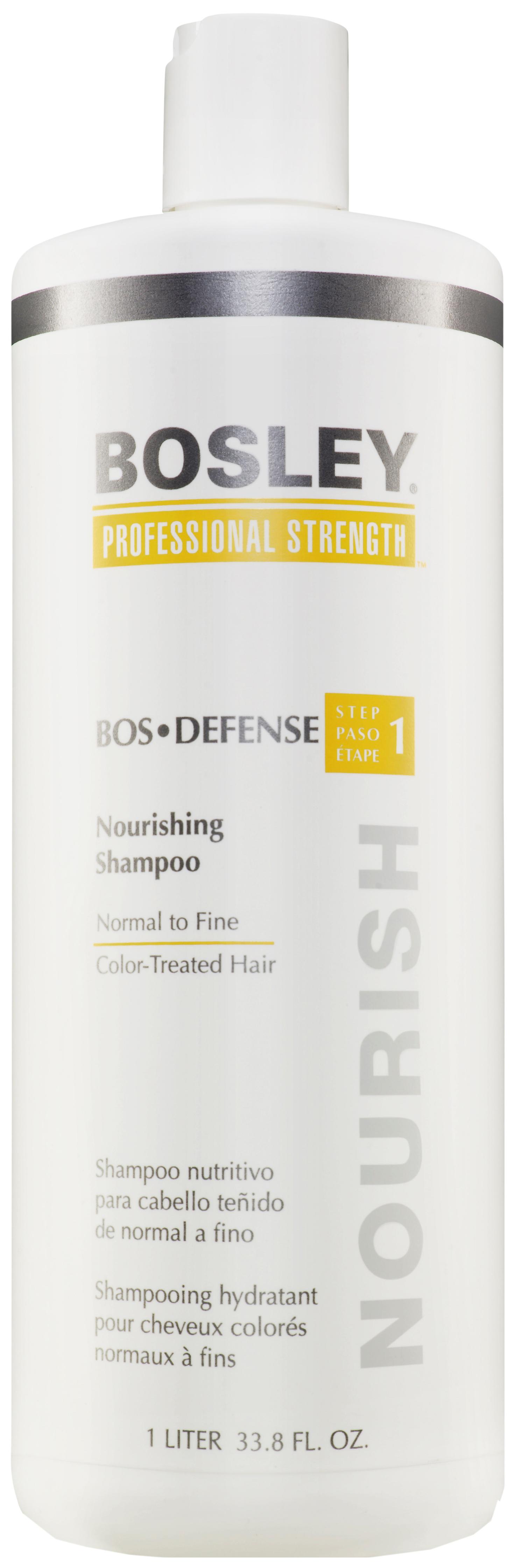 Купить Шампунь Bosley Вos Defense Nourishing Shampoo Normal to Fine Color-Treated Hair Step 1 1 л