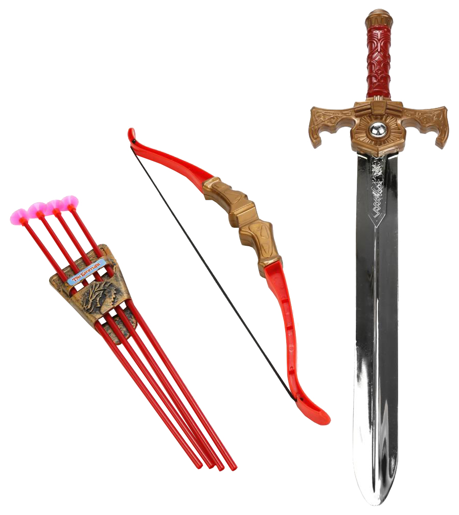 Купить Набор игрушечного оружия ИГРАЕМ ВМЕСТЕ Три Богатыря B1512998-R, Играем Вместе, Луки со стрелами детские