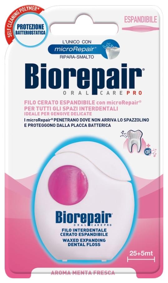 Зубная нить Biorepair Expanding Dental Floss