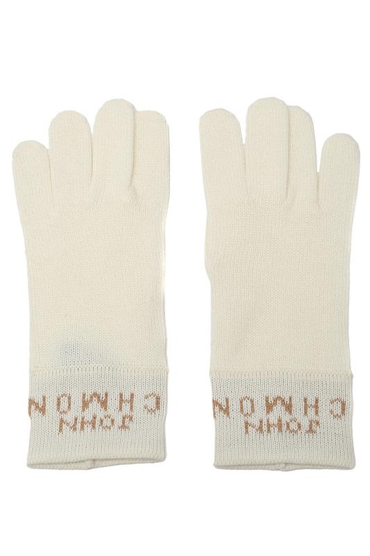 Перчатки женские John Richmond 10 2 Y AG01 C029 бежевые 7.5