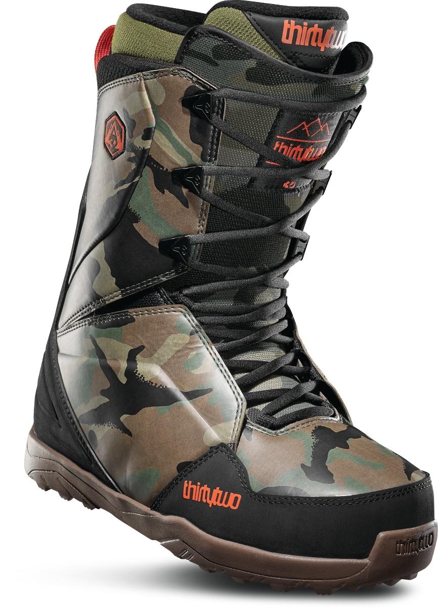 Ботинки для сноуборда ThirtyTwo Lashed 2020, camo, 29