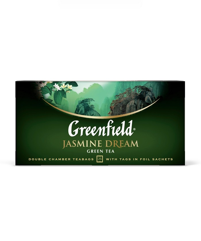 Чай зеленый Greenfield jasmine dream 25 пакетиков