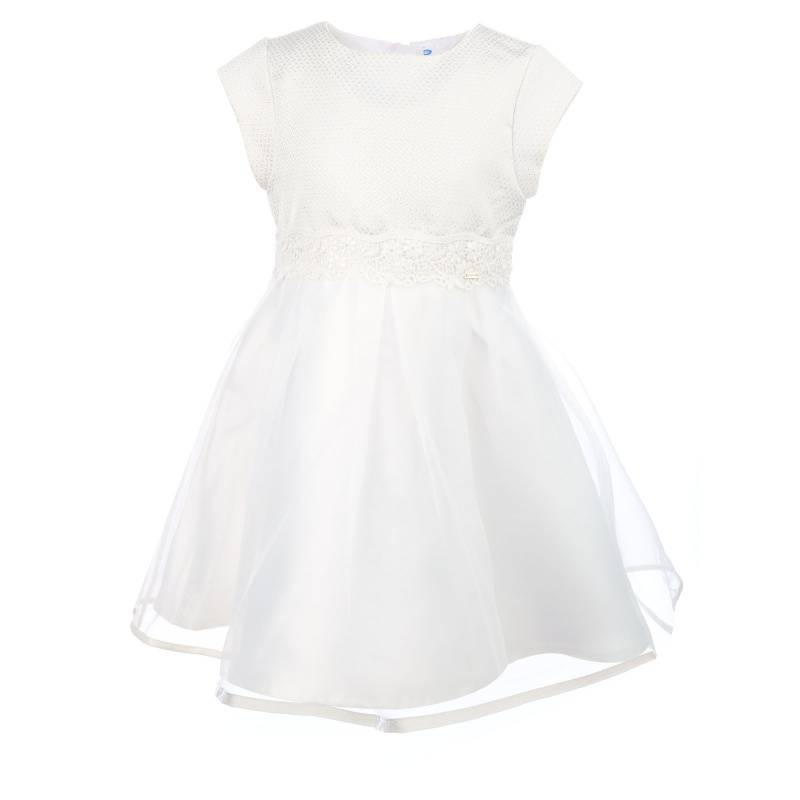 Купить Платье MAYORAL, цв. бежевый, 116 р-р, Детские платья и сарафаны