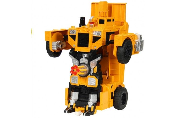 Радиоуправляемый робот-трансформер Meizhi Самосвал 1:14, стреляет присосками MZ-2379PF фото