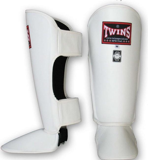Защита голени Twins SGL3 Shin Protection белая