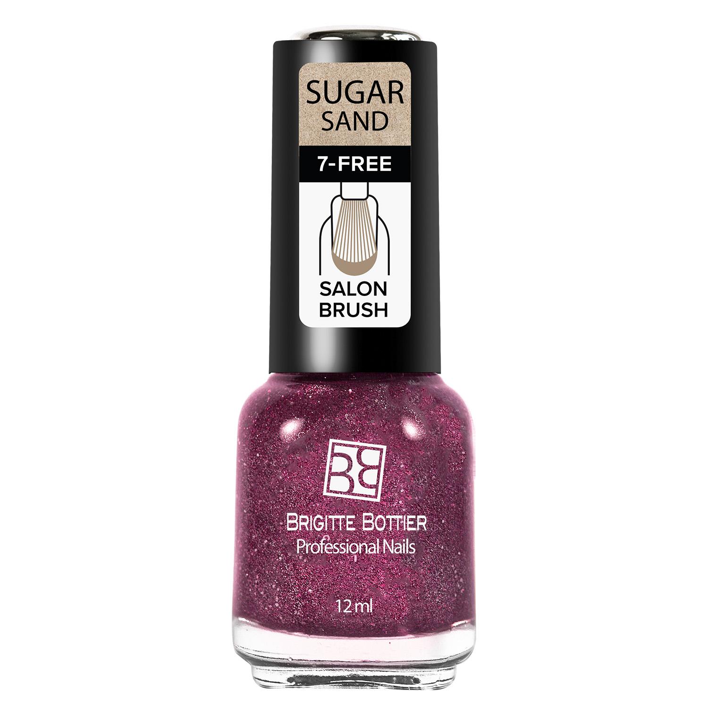 Лак Brigitte Bottier Sugar Sand тон 311 искрящийся малиновый, 12 мл