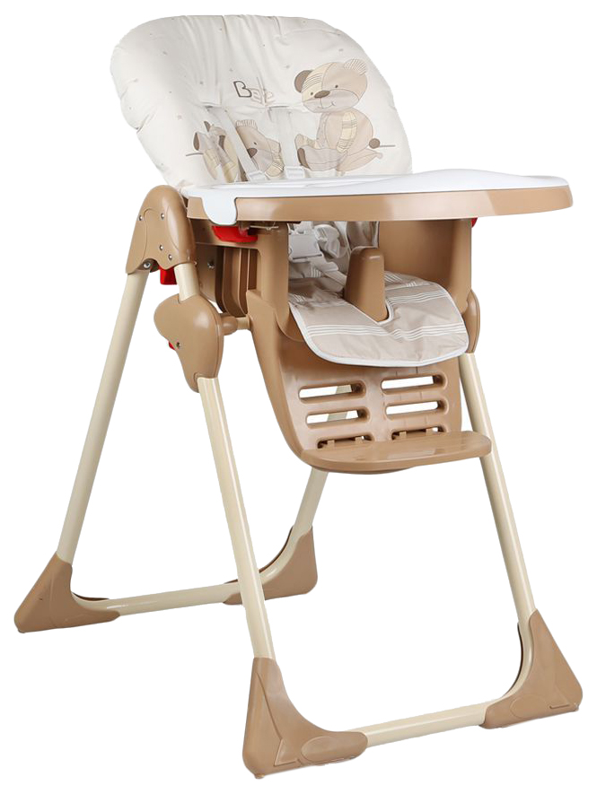 ГЛОБЭКС Стул-стол для кормления КОСМИК регулируемый Бежевый