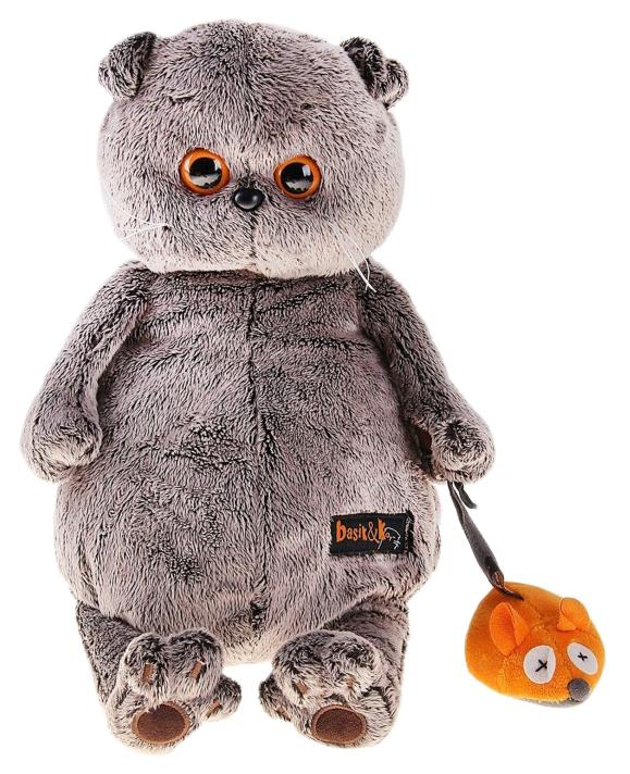 Мягкая игрушка BUDI BASA Басик и мышка, 19 см фото