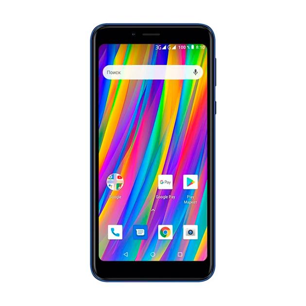 Смартфон teXet TM-5083 Duo SIM 8Gb Blue  - купить со скидкой