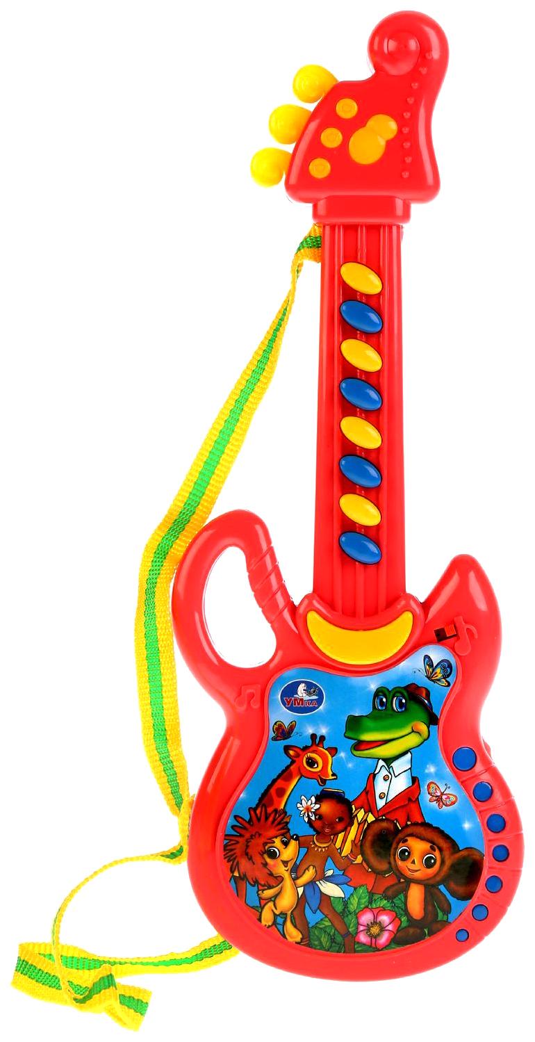 Купить УМКА Электрогитара 20 любимых песен ТМ УМКА на бат. руссифиц. на блистере в кор.2*72шт, Умка, Детские музыкальные инструменты