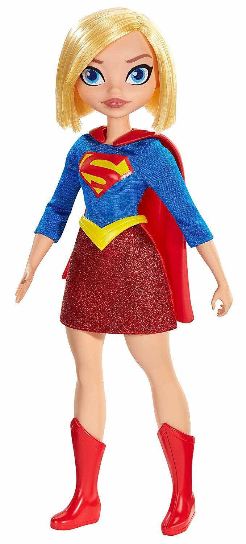 Купить Кукла DC SuperHero Girls Supergirl Супергероини Эксклюзив GBY56, Классические куклы