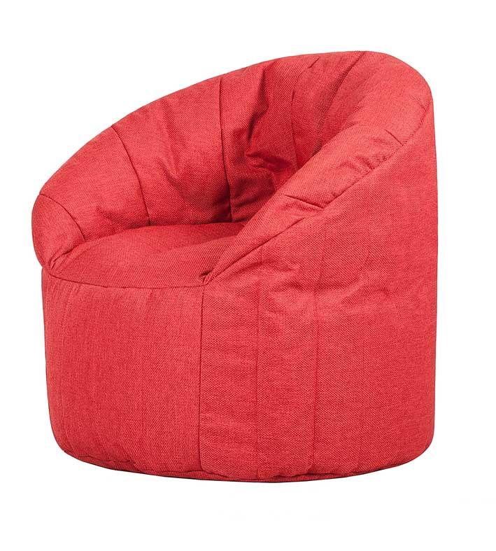 Бескаркасное кресло ПАПА ПУФ CLUB CHAIR RED