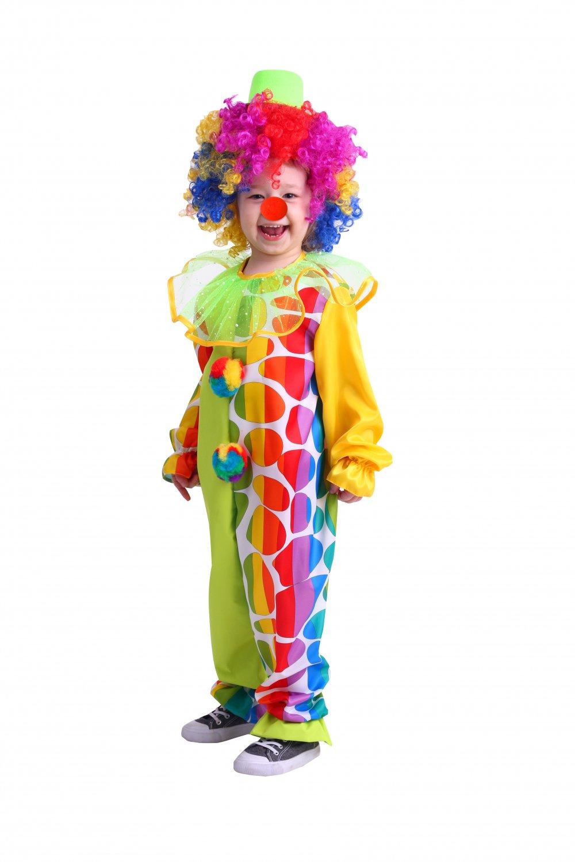 Купить 2014, Карнавальный костюм Батик Клоун, цв. разноцветный р.122,