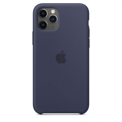 Чехол GoodChoice Silicone Case Lux для iPhone 11Pro Max Midnight Blue  фото