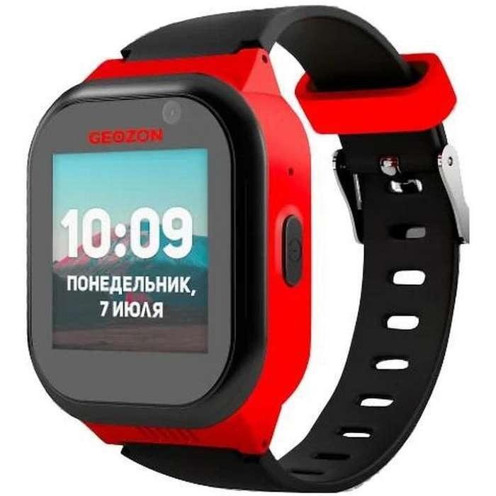 Детские смарт-часы GEO LTE (4G) Red/Black (GEO-G-W01RBLK) LTE (4G)