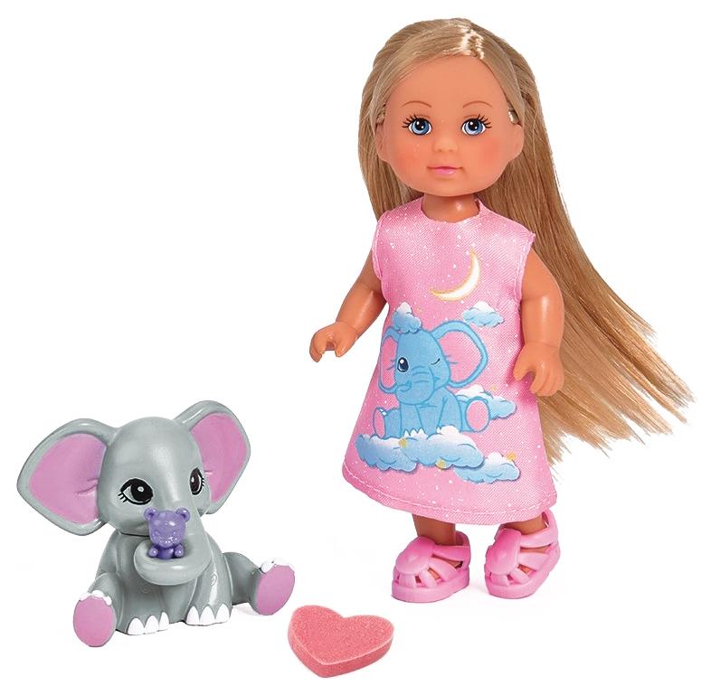 Кукла Simba Еви со слоненком