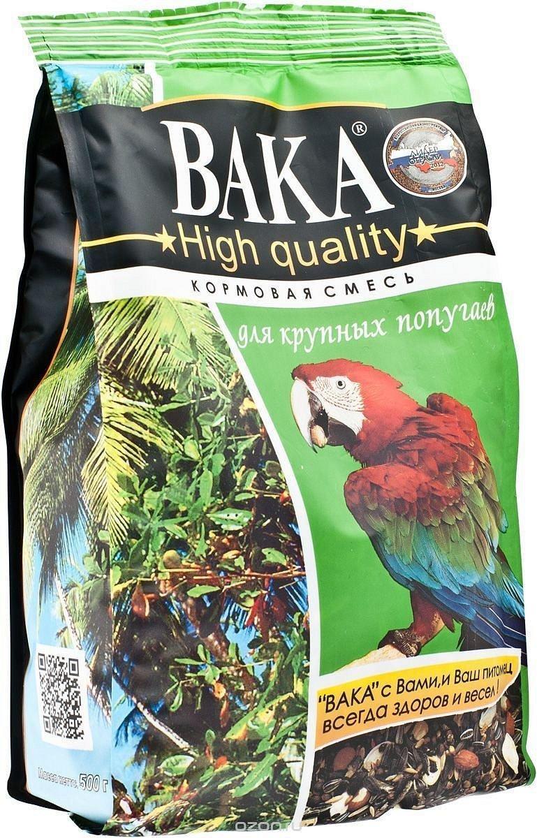 Корм Вака High Quality для крупных попугаев (1 кг)
