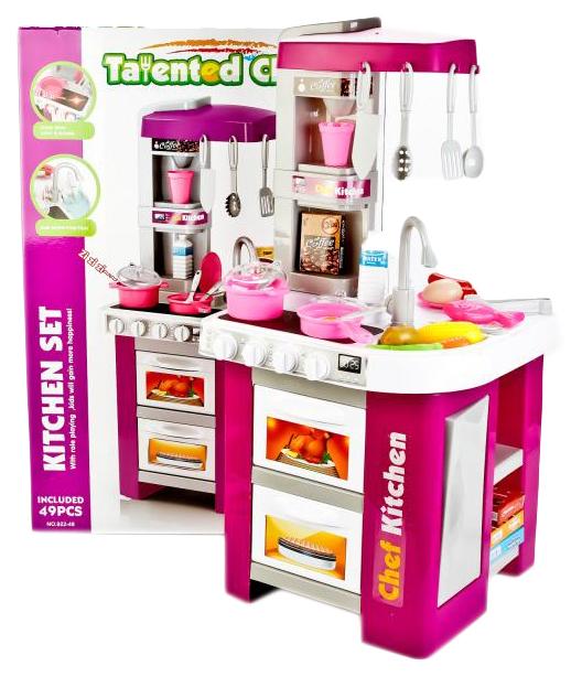 Игровой набор Kitchen set Talented Chef 922-49 35 см 49 предметов Shantou Gepai