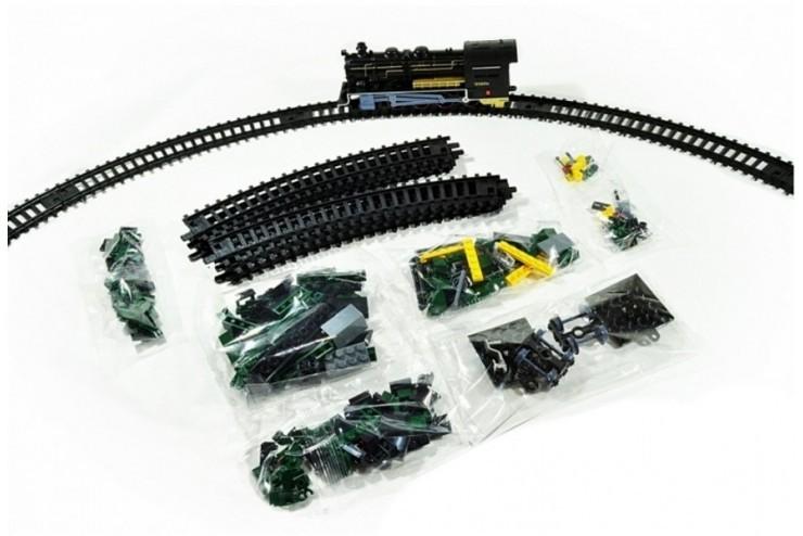 Железная дорога-конструктор Fenfa RailCar 350 деталей 1608-1A