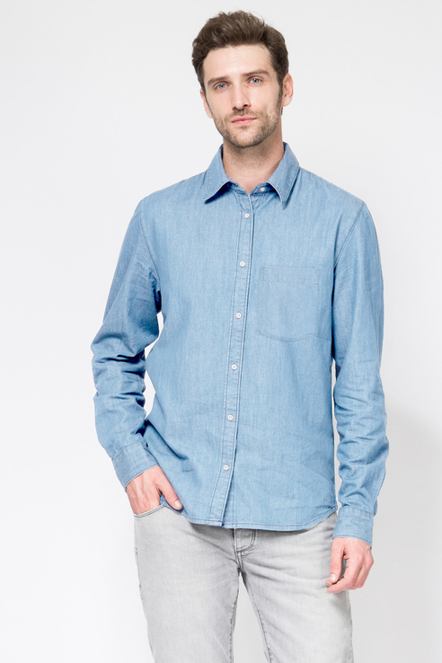Рубашка мужская Tom Farr T M2421.33 голубая S