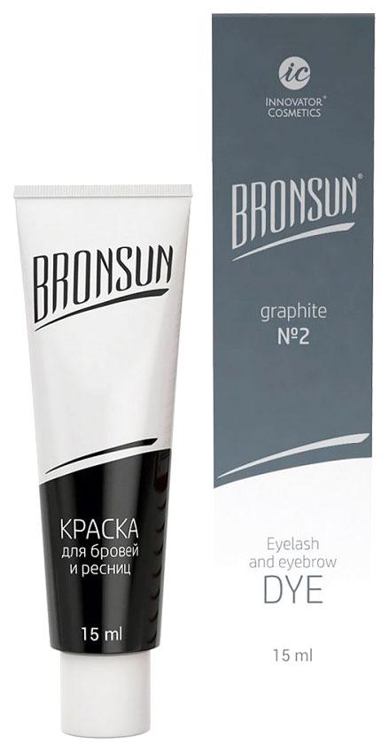 Краска для бровей Innovator Cosmetics Bronsun №2 Графит 15 мл фото
