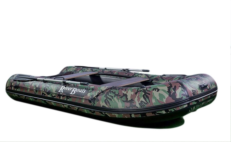 Лодка надувная Riverboats RB-350 НДНД 3,5 x 1,61 м камуфляж