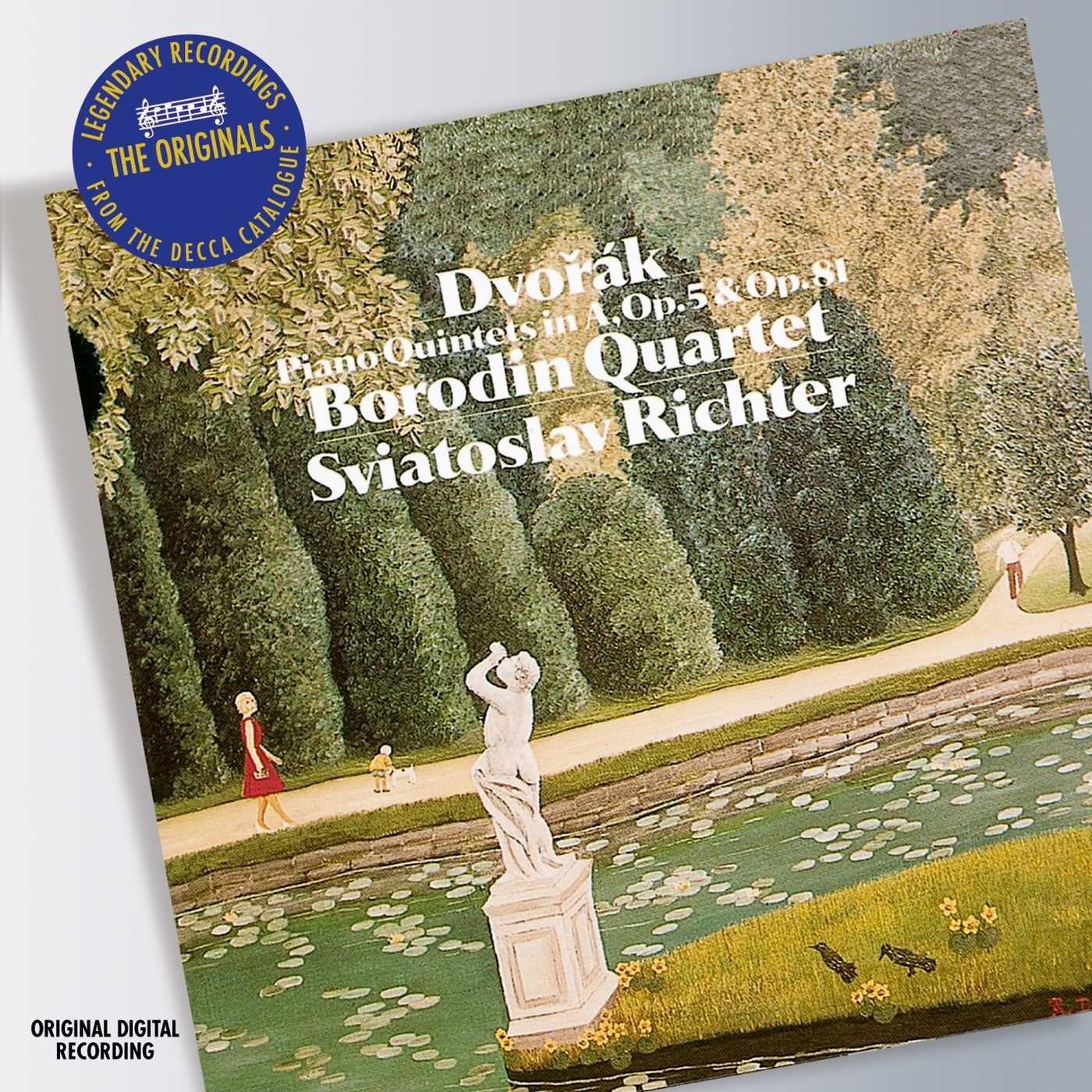 Аудио диск Richter, Sviatoslav Dvorak: Piano Quintets Nos.1 #and# 2