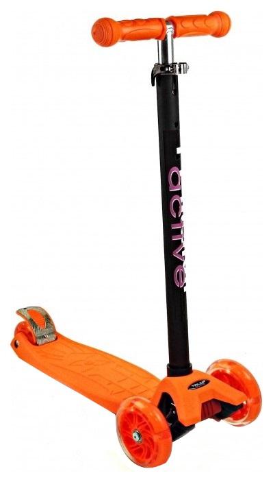 Купить Самокат трехколесный Triumf Active SKL07CLor оранжевый, Самокаты детские трехколесные