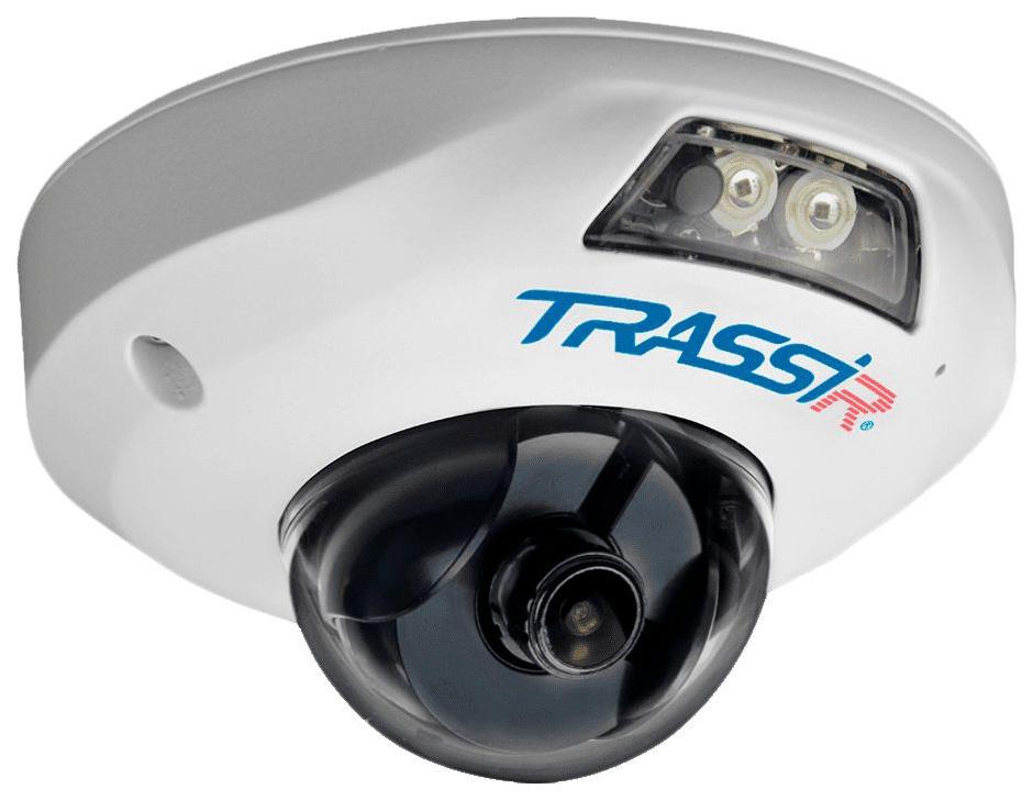Видеокамера IP Trassir TR-D4121IR1 Белый (TR-D4121IR1 (2.8 MM))  - купить со скидкой
