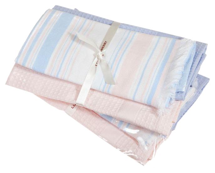 Полотенце Luxberry Акварель 0204630061 04123 Белый; Розовый;