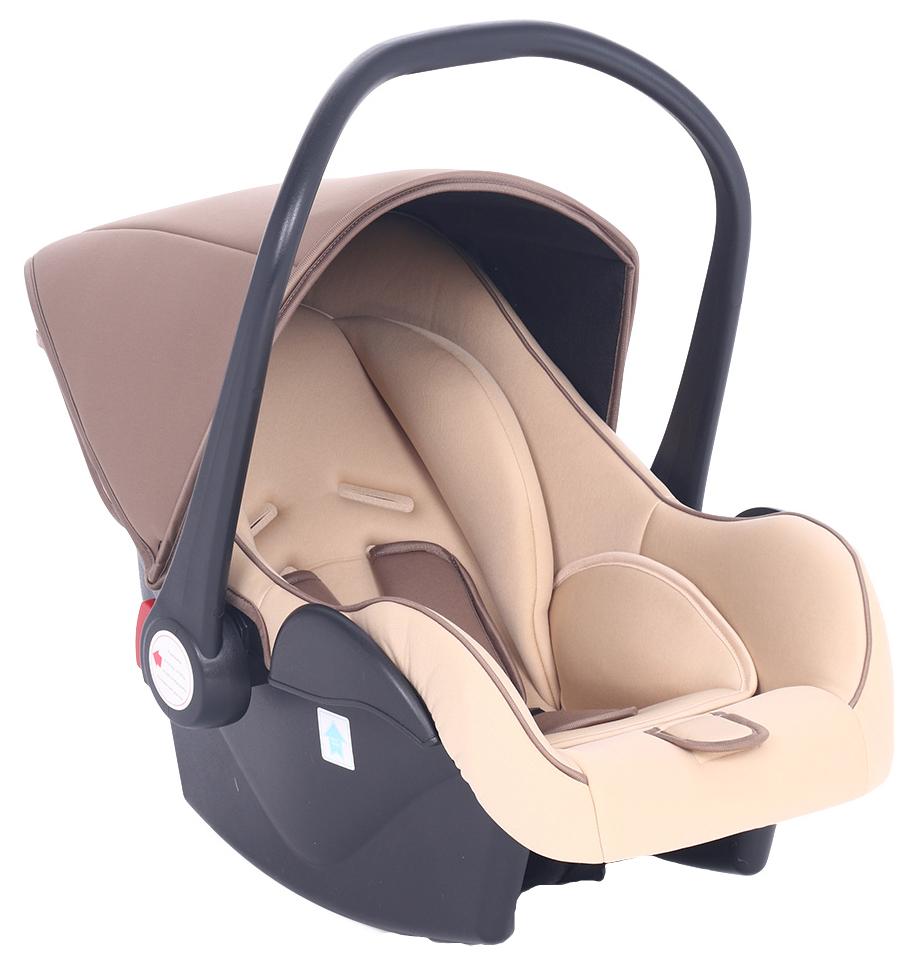 Автокресло-переноска Leader Kids Baby Leader Comfort II 0-13 кг, Brown Коричневый/Бежевый
