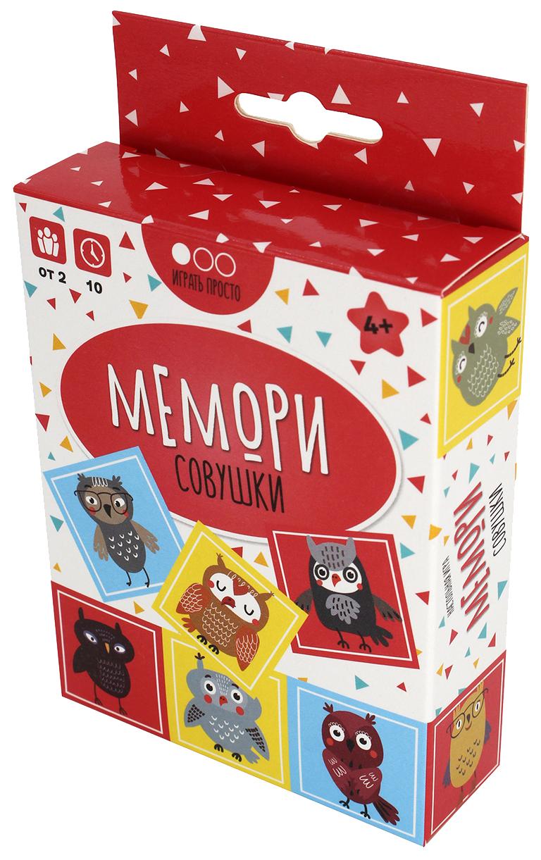 Купить Семейная настольная игра Muravey Games Мемори Совушки ТК007,