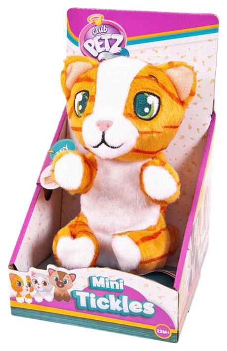 Купить Интерактивное животное IMC toys Котенок интерактивный (рыжий полосатый) 96790, Интерактивные мягкие игрушки