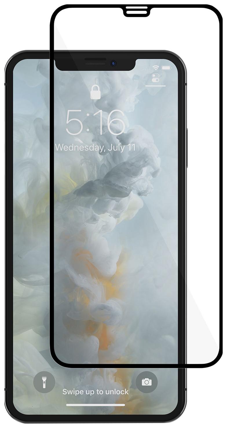 Защитное стекло InterStep для Apple iPhone XS Max Black 3D Full Cover для iPhone Xs Max Black Frame