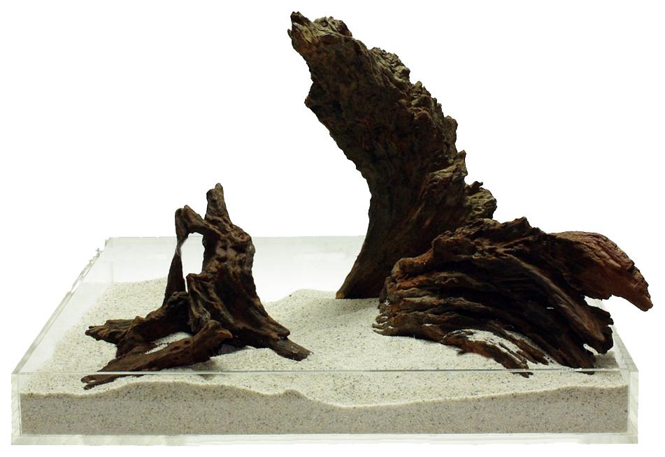 Коряга UDeco Iron Driftwood XXXS натуральная железная,