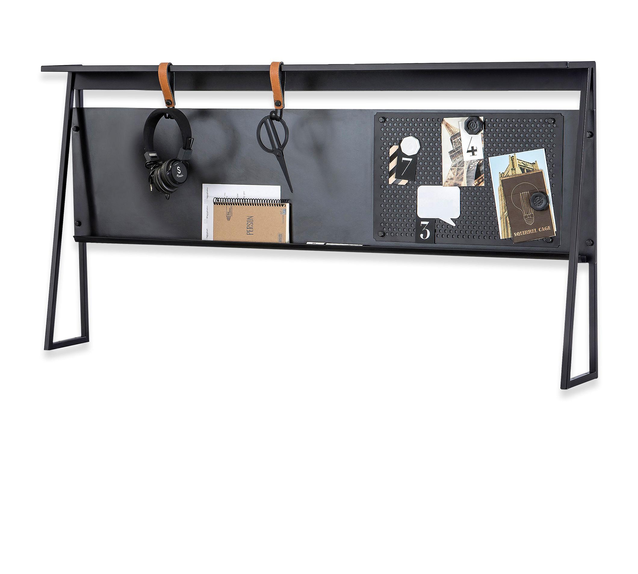 Купить Надстройка Cilek Dark Metal к письменному столу, малая, Аксессуары для детской комнаты