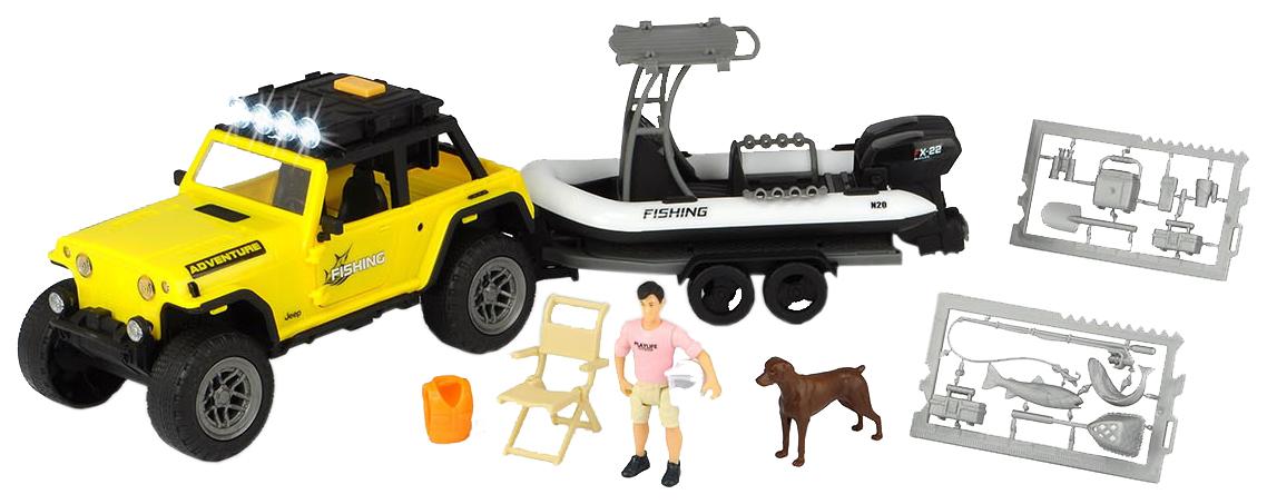Купить Игровой набор DICKIE Набор рыбака 3838001, Dickie Toys, Игровые наборы