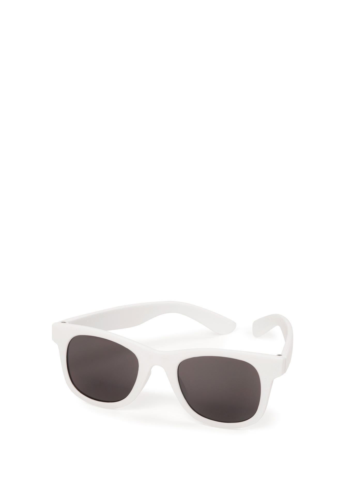 Солнцезащитные очки детские Happy Baby White