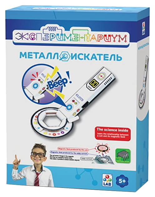 Купить Набор для исследования 1 TOY Экспериментариум Металлоискатель,