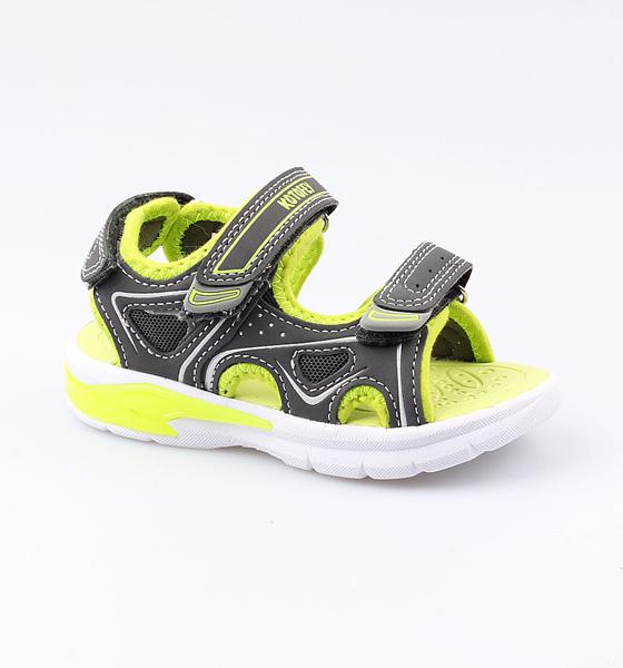 Купить Пляжная обувь Котофей для мальчика р.25 324008-11 серый, Шлепанцы и сланцы детские