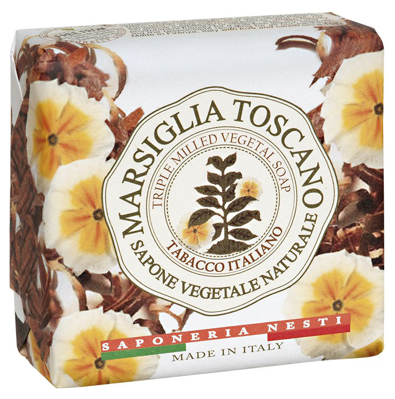 Косметическое мыло Nesti Dante Marsiglia Toscano Tabacco Italiano 200 г